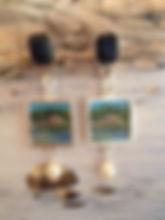 Finnish Archipelago earrings