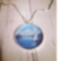 Lake Maggiore pendant