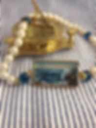 York Harbor Sunrise necklace