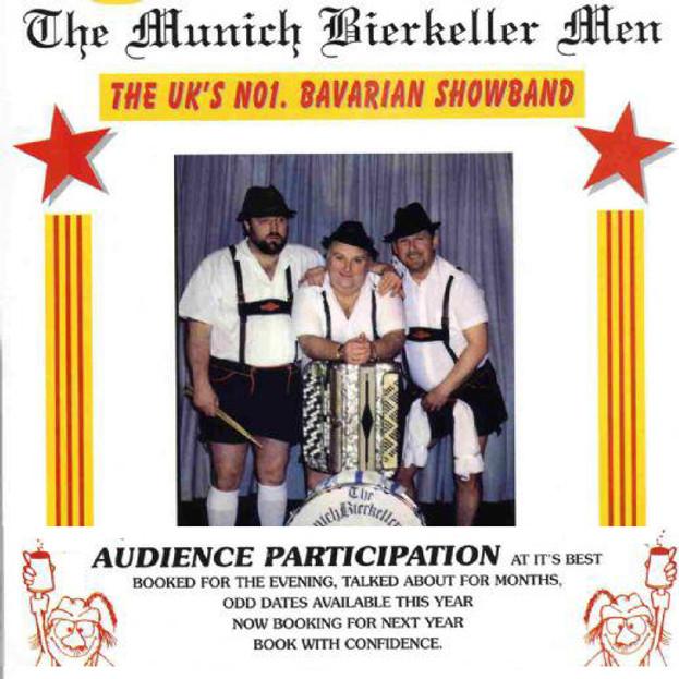 Munich Beer Keller Men - Oompah Band