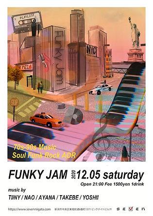 FUNKY JAM club seven disco soul funk 90s