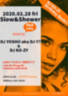 Slow&Shower club SEVEN 新潟 クラブ R&B DJ