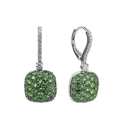 Emerald Parc Guell Earrings