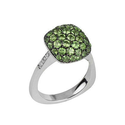 Emerald Parc Guell Ring