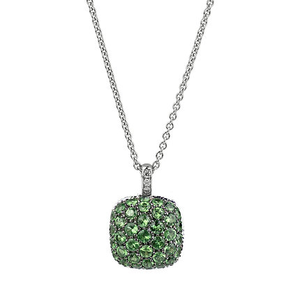 Emerald Parc Guell Necklace