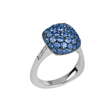 Sapphire Parc Guell Ring