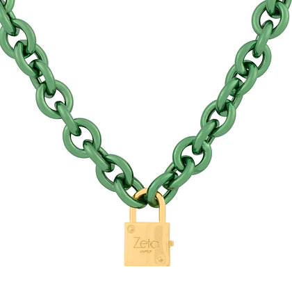 Collana Catena Giulietta Verde