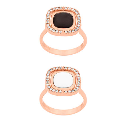 Reversible Pirouette Ring