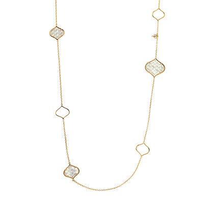 Long Rose Gold Venice Necklace