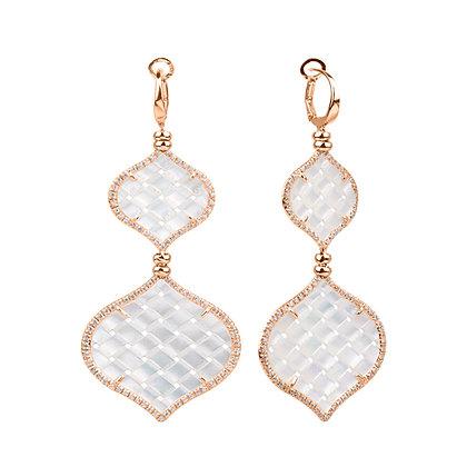 Diamonds Rose Venice Earrings