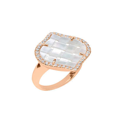 Diamonds Rose Venice Ring