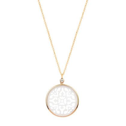 Rose Gold Damasco Necklace