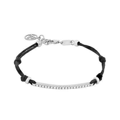 White Gold Smile Bracelet