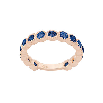 Sapphire Smile Ring