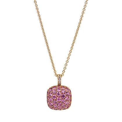 Pink Quartz Parc Guell Necklace