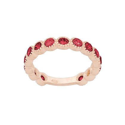 Rubies Smile Ring