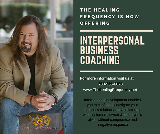 Interpersonal Business Coaching frist ad