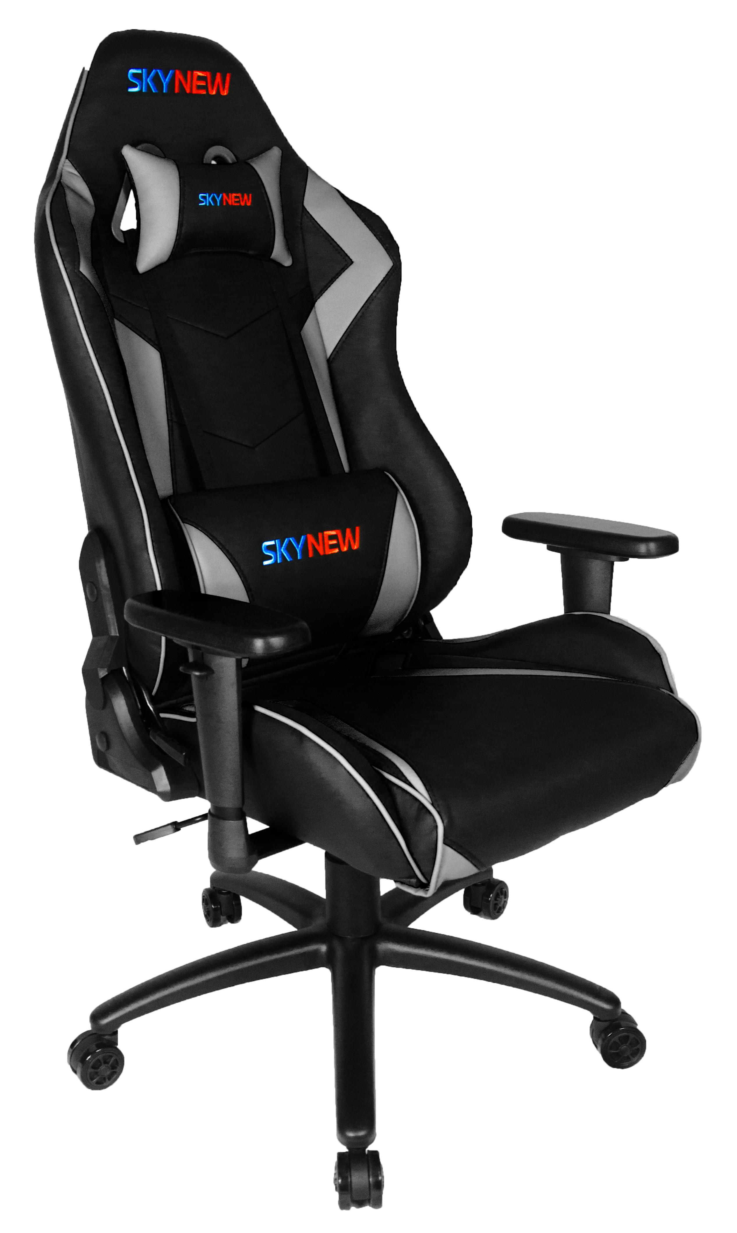 Stuhl GamingBüro Alpha SKYNEW Grau Schwarz SeriesVerA wP8XNn0Ok