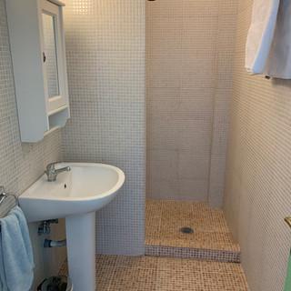 One of the bathrooms in 'Bouzouki'