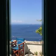 View from 'Bouzouki' second bedroom