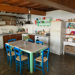 The Music House kitchen