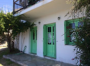 View of 'Kanonaki'. Villa for rent on Skopelos, Sporades, Greece, with a swimming pool.