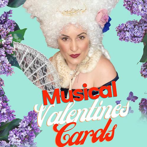 Digital Musical Valentines Card