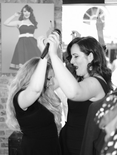Dancing in the Collectif store