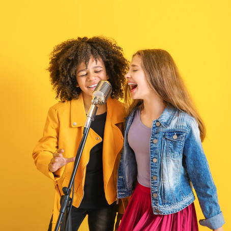 Three top tips for your child's singing success!