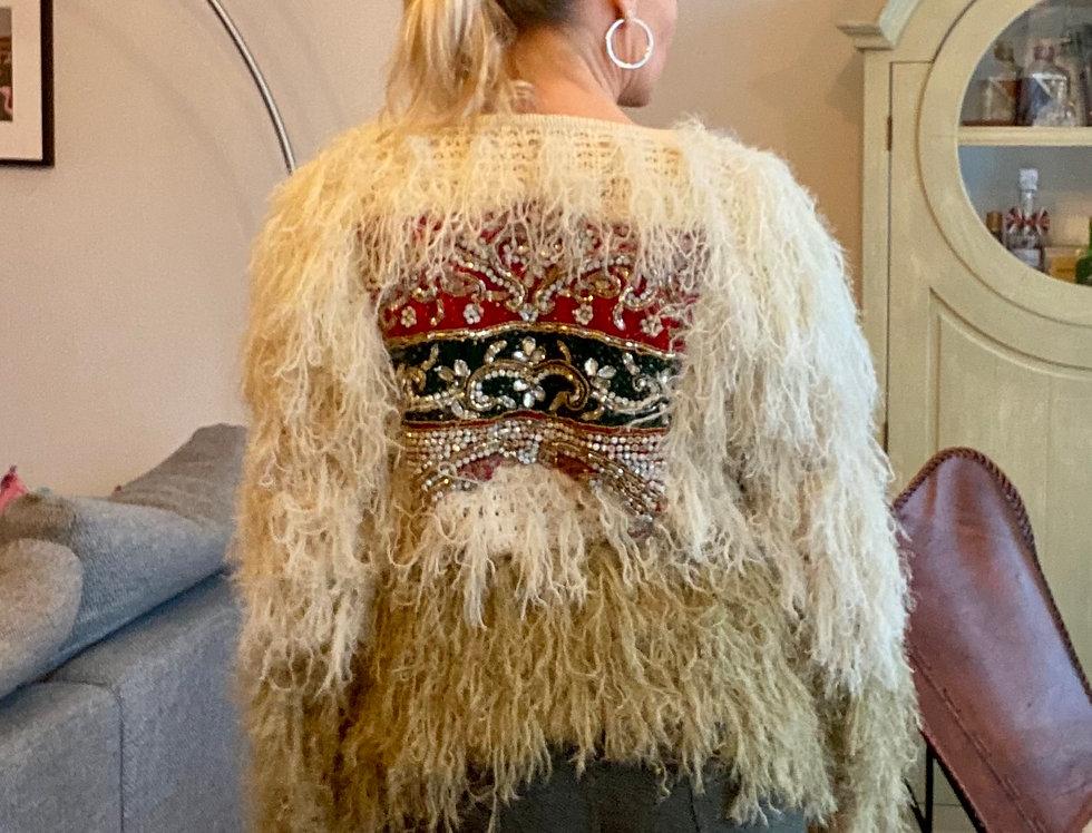 Vest met Indiase Sari Mamz'elle Zoé