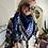Thumbnail: Chèche Bellezza Sunshine blauw