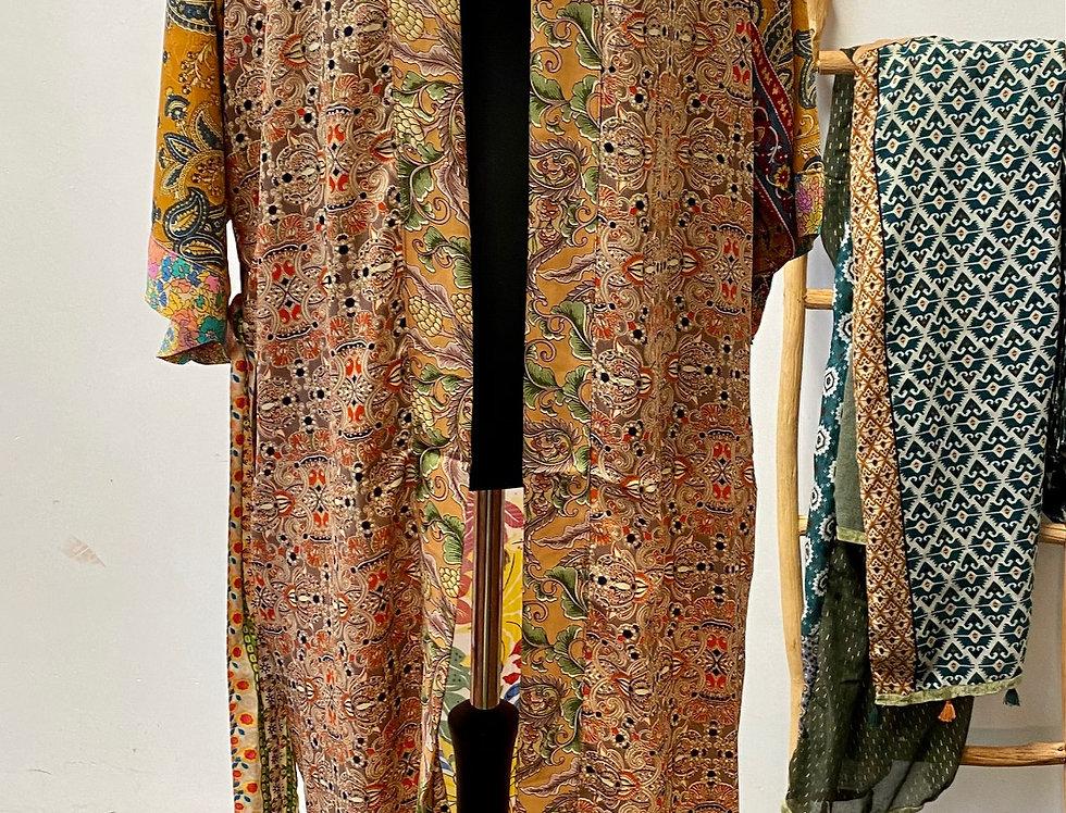 Lange kimono My Paradise Flower Power