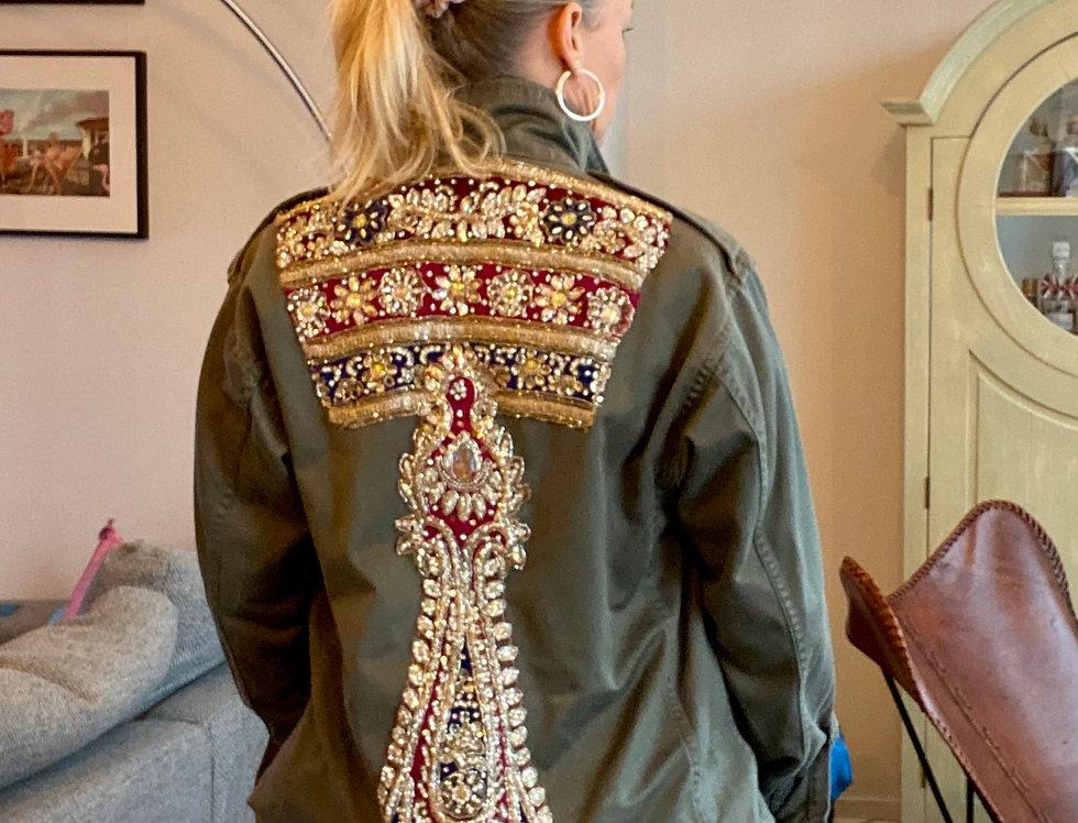 Vintage army jacket Mamz'elle Zoé