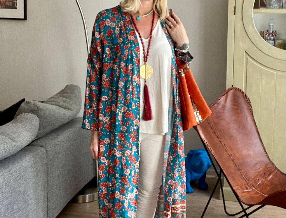 Lange kimono Mamz'elle Zoé 'Eagle'