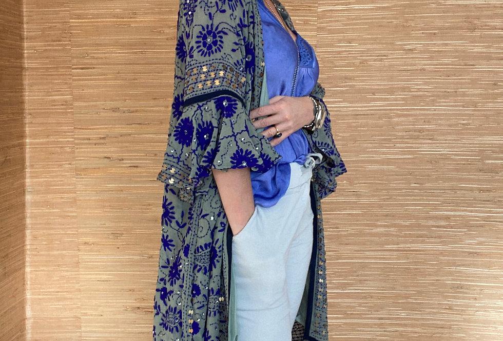 Geborduurde Kimono Mamz'elle Zoé