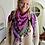 Thumbnail: Chèche Bellezza Sunshine roze en paars