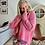 Thumbnail: Roze pull met lurex