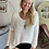 Thumbnail: Witte trui oversized