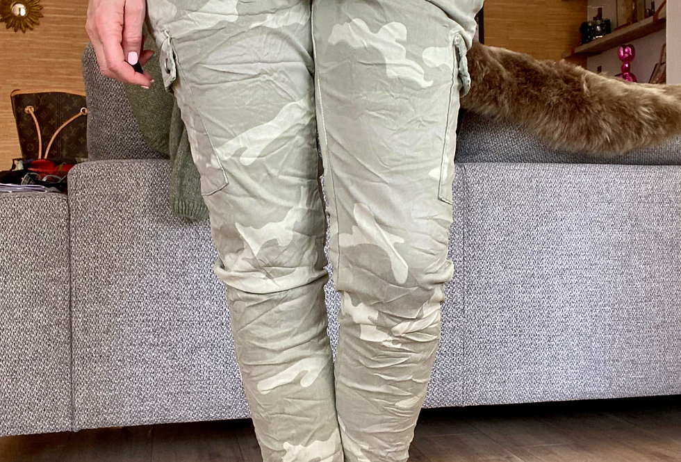 Broek camouflage