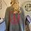 Thumbnail: Oversized trui Peace fluo