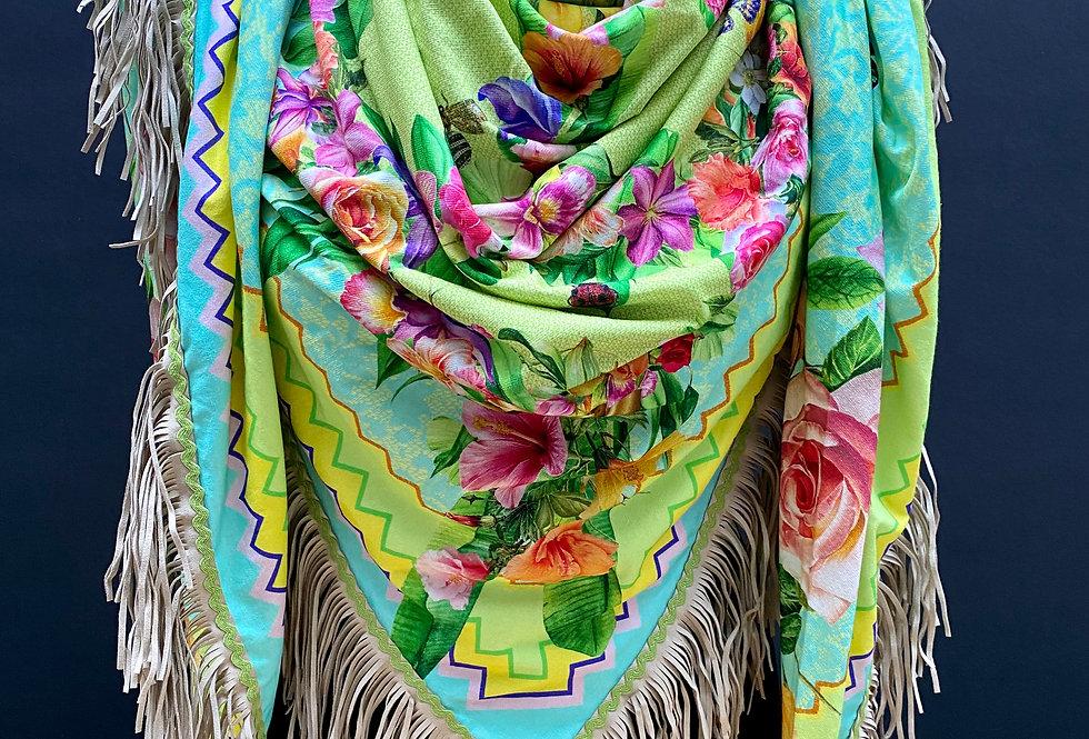 Sjaal Katherina Loretta Peacefull Rosegarden