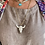 Thumbnail: Ketting met stier in strass