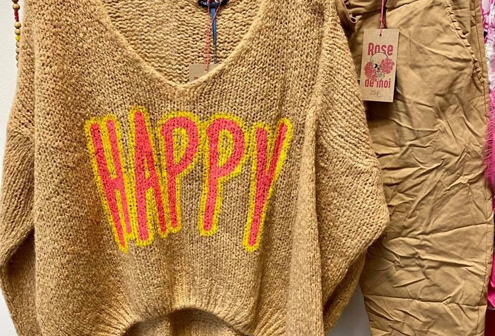 Trui 'Happy'