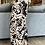 Thumbnail: Losse broek met prints zwart met beige