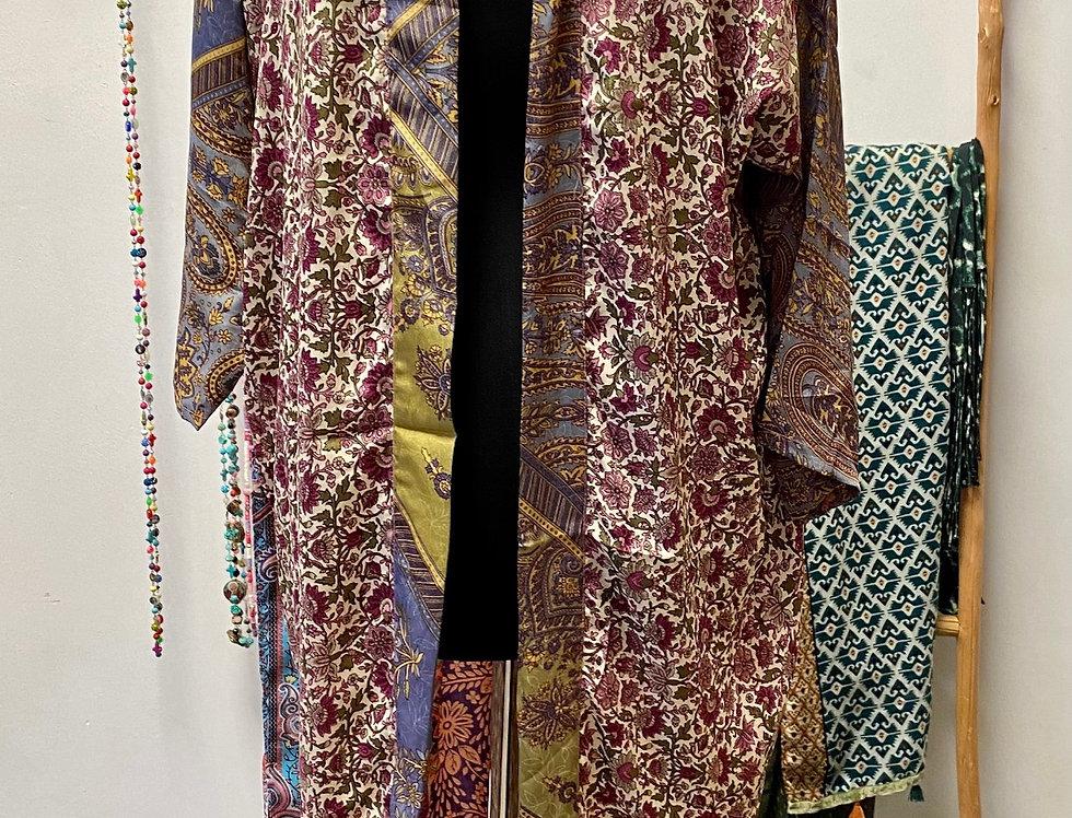 Korte kimono #MOOD purple
