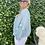 Thumbnail: Tuniek in katoen met brede mouwen