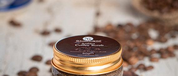 Coffee Scrub Body cream  Mysore - Organic Online store Simple Soul -Same day delivery