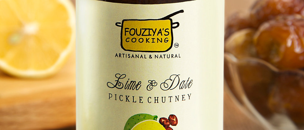Lime Date Pickle Chutney