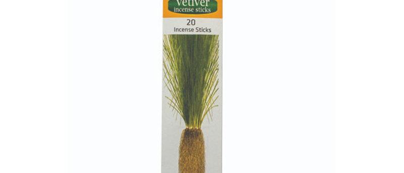 Herbal Aromatic Incense Sticks - VETIVER