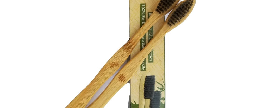 BUY 3 GET 1 FREE - Bamboo Toothbrush
